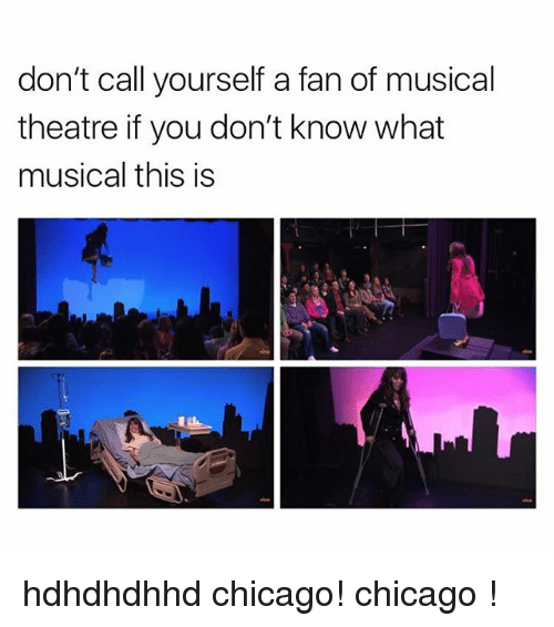 Chicago, Theatre, and You: don't call yourself a fan of musical  theatre if you don't know what  musical this is hdhdhdhhd chicago! chicago !