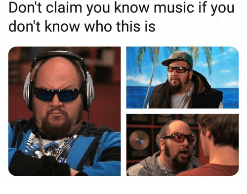 Music, Who, and You: Don't claim you know music if you  don't know who this is