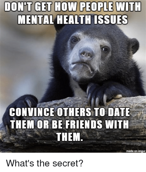 Dating someone with health issues