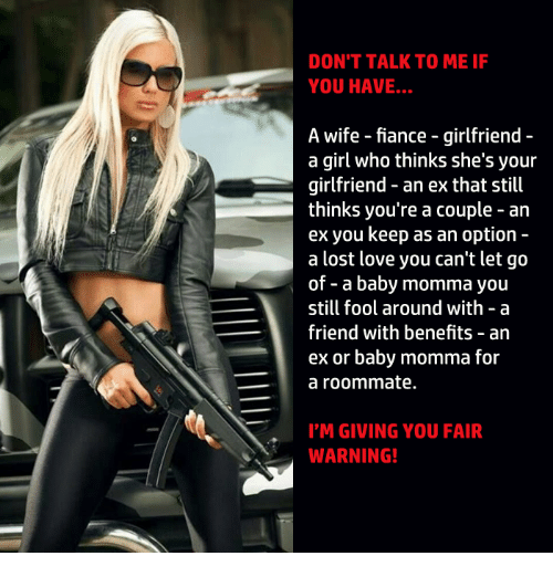 When to let go of a girl dating