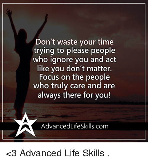Ignore people you when 4 Ways