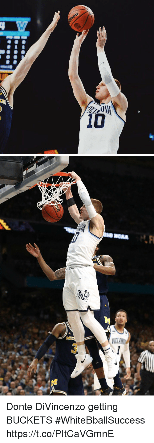 Basketball, White People, and Donte: Donte DiVincenzo getting BUCKETS #WhiteBballSuccess https://t.co/PItCaVGmnE
