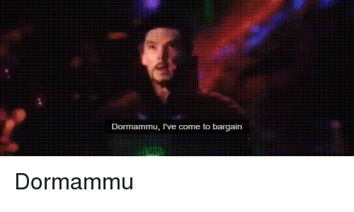 Dormammu Dr Strange Meme: Search Bargain Memes On Me.me