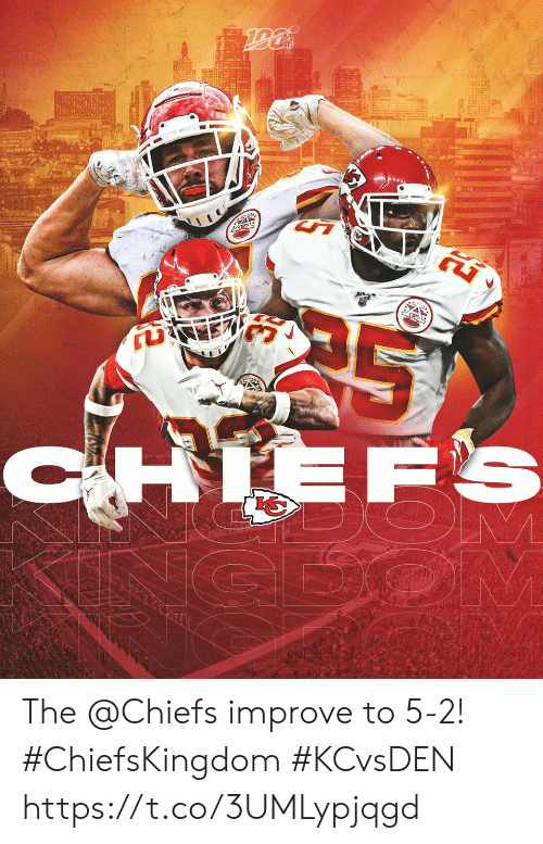 dos: Do's  CHIEFS  CEOM The @Chiefs improve to 5-2! #ChiefsKingdom #KCvsDEN https://t.co/3UMLypjqgd