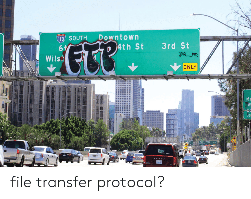 """downtown: Downtown  4th St  110 SOUTH  ETR"""".  3rd St  6 t  Wils  ONLY  M  W  US file transfer protocol?"""