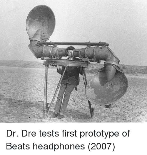 Dr. Dre: Dr. Dre tests first prototype of Beats headphones (2007)