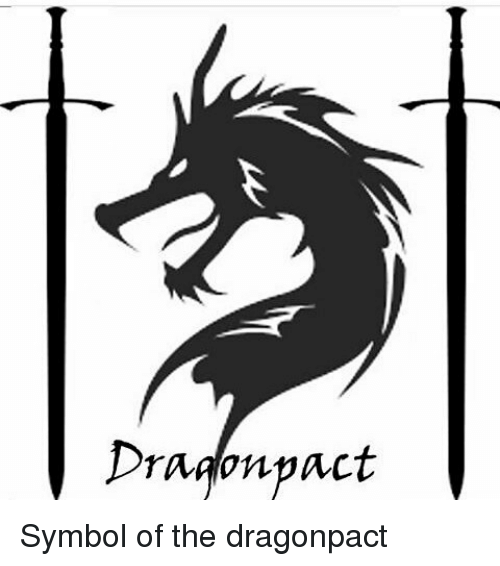 Dragon Pact Symbol Of The Dragonpact Meme On Sizzle