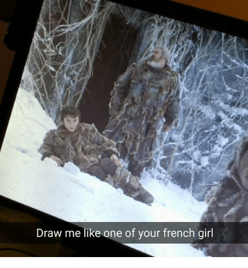 draw me like one of your french girls: Draw me like one of your french girl