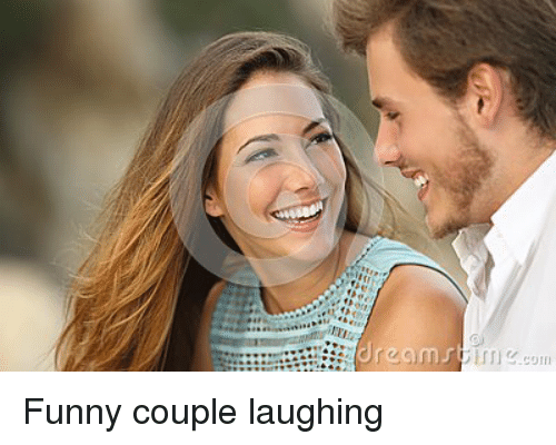 Funny Couple: dream Funny couple laughing