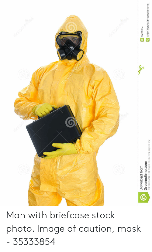 Man Putting On Hazmat Suit Meme