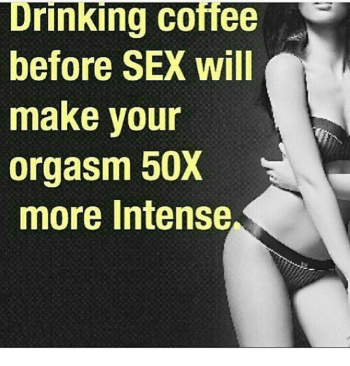 drinking before sex problems