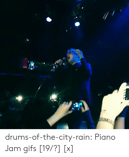 drums: drums-of-the-city-rain:  Piano Jam gifs [19/?] [x]