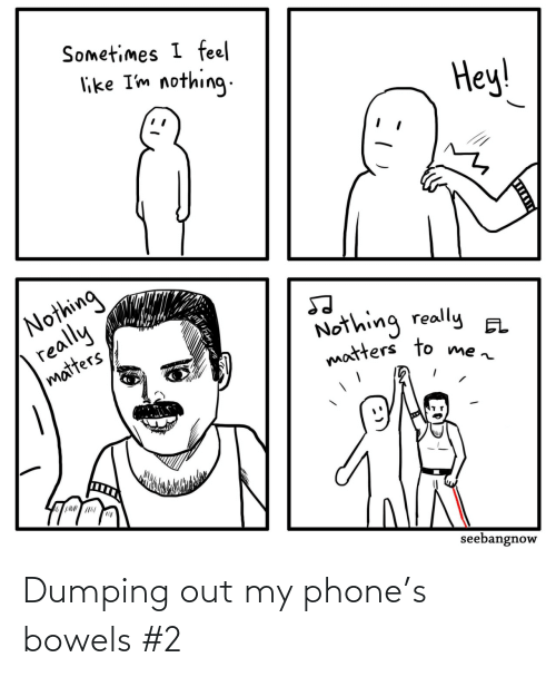 my phone: Dumping out my phone's bowels #2