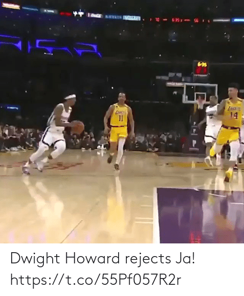 Howard: Dwight Howard rejects Ja!  https://t.co/55Pf057R2r