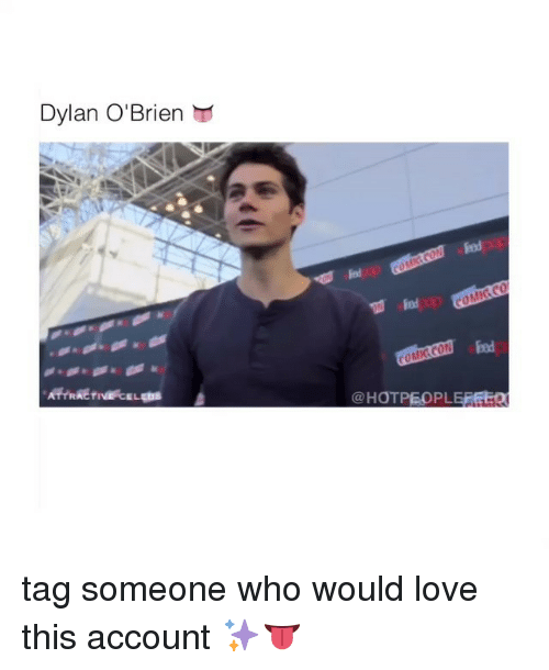 Dylan O'Brien: Dylan O'Brien  HOTPEOPLEREEo tag someone who would love this account ✨👅
