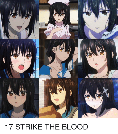 Strike The Blood: e 今天(1月7日)是《噬血狂襲 STRIKE THE BLOOD》姫柊雪菜的生日!