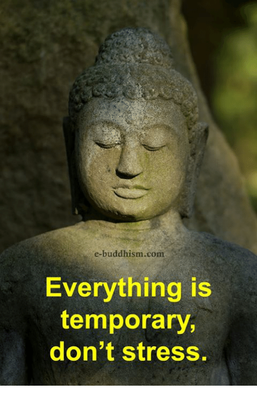 Don T Stress Funny Meme : E buddhism com s everything is temporary don t stress