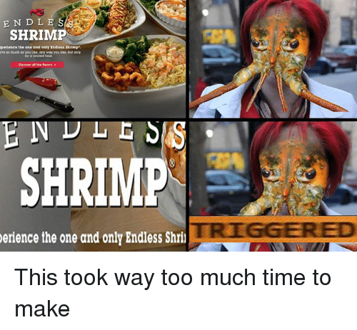 Red Lobster Endless Shrimp Are Back Baby Meme On Meme