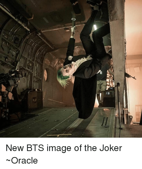 🤖: E New BTS image of the Joker ~Oracle