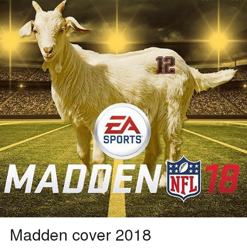 maddening: EA  SPORTS  MADDEN  NFL Madden cover 2018