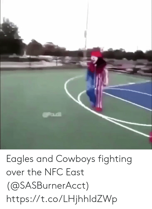 nfc east: Eagles and Cowboys fighting over the NFC East (@SASBurnerAcct) https://t.co/LHjhhIdZWp
