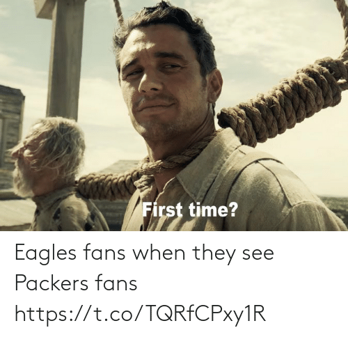 Packers: Eagles fans when they see Packers fans https://t.co/TQRfCPxy1R