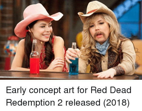 concept art: Early concept art for Red Dead Redemption 2 released (2018)