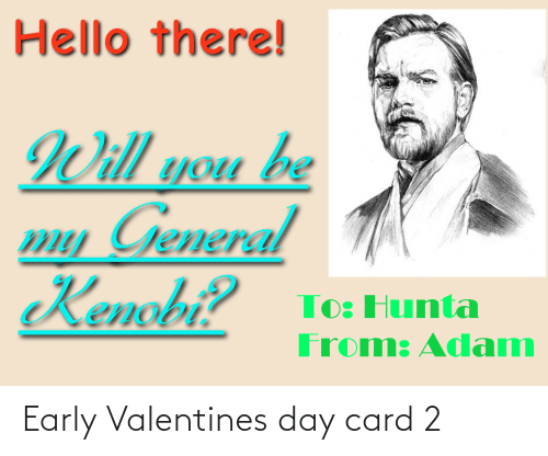 valentines day card: Early Valentines day card 2