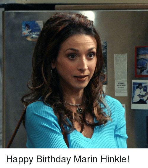 mariners: ears as Happy Birthday Marin Hinkle!