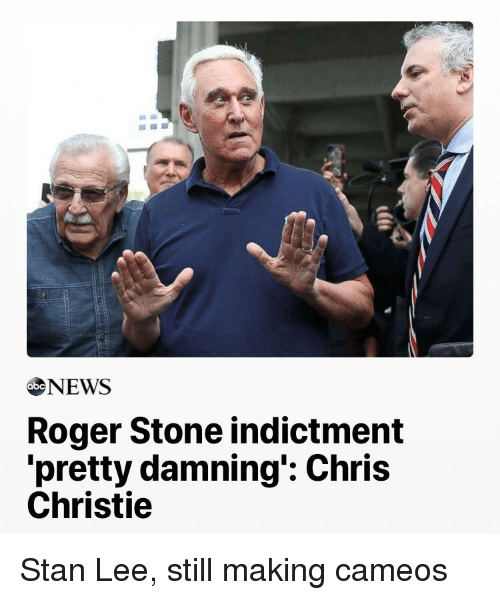 Chris Christie: ebeNEWS  Roger Stone indictment  pretty damning': Chris  Christie