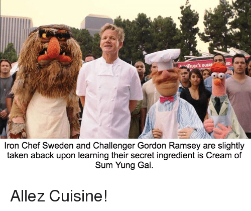 25 best memes about bertstrips and taken bertstrips and for Allez cuisine iron chef