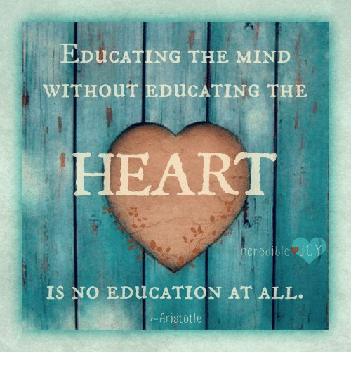 the definition of an education for the mind heart and soul You have the capacity to become an extraordinary leader—if you are willing to embrace a deeper definition of leadership lead with all your heart, soul, mind and.