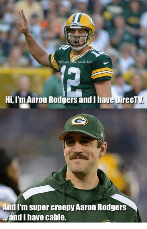efauxjarmmadden hi im aaron rodgers and i hav irect andim 18127610 🔥 25 best memes about aaron rodgers aaron rodgers memes