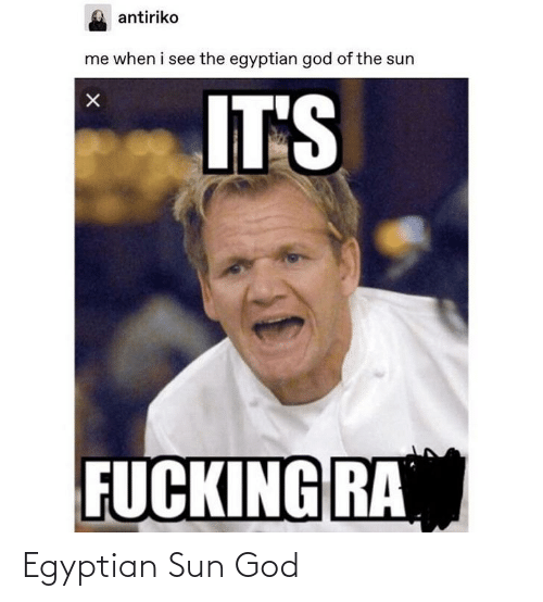 Egyptian: Egyptian Sun God