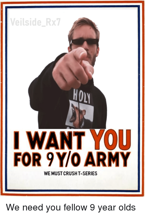 rx7: eilside Rx7  HO  I WANT YoU  FOR 9Y/O ARMY  WE MUST CRUSHT-SERIES