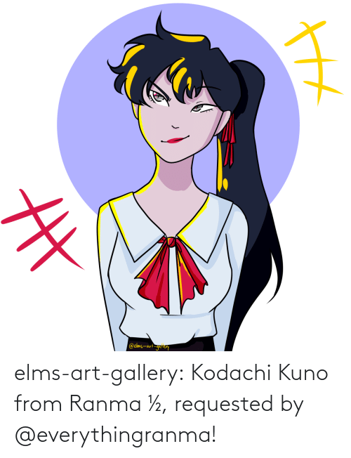 ranma: elms-art-gallery:  Kodachi Kuno from Ranma ½, requested by @everythingranma!