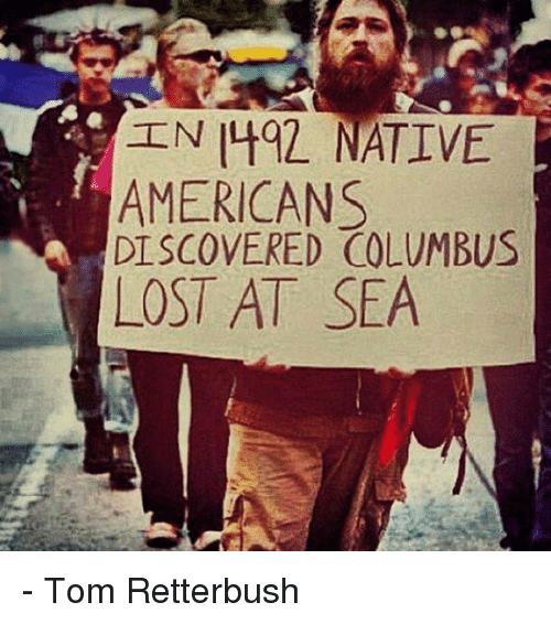 "the genocide of native americans after christopher columbus came to the new world The 15th-century doctrine that let columbus 'discover america' is ""if columbus had never come when discussing the genocide of native americans."