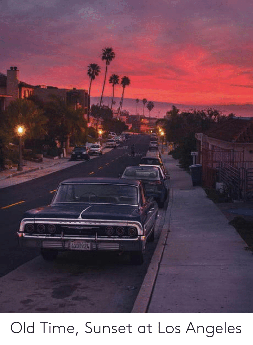 Sunset: ELSOT924 Old Time, Sunset at Los Angeles