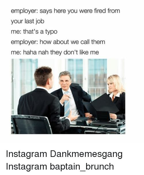 how to say you were fired