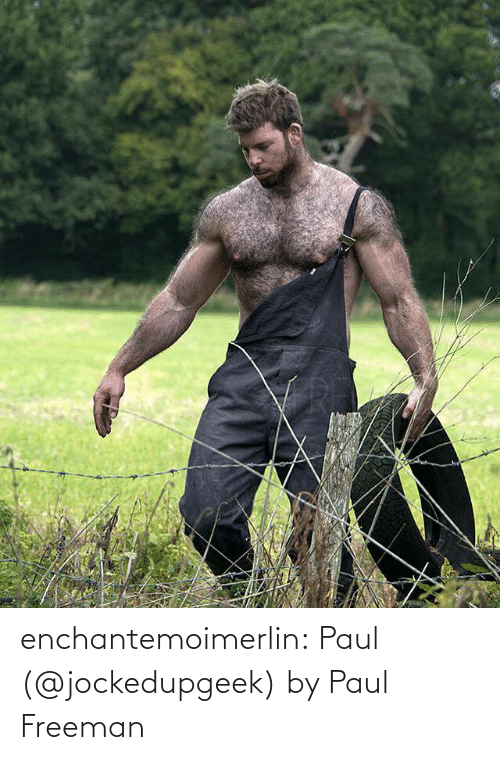 paul: enchantemoimerlin:  Paul (@jockedupgeek) by Paul Freeman