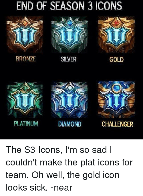 end of season 3 icons bronze silver gold platinum