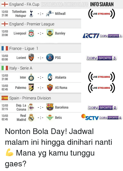 Image Result For Real Madrid Live Streaming Malam Ini