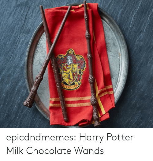 harry: epicdndmemes:  Harry Potter Milk Chocolate Wands