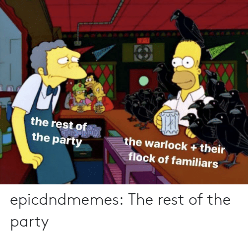 The Rest: epicdndmemes:  The rest of the party
