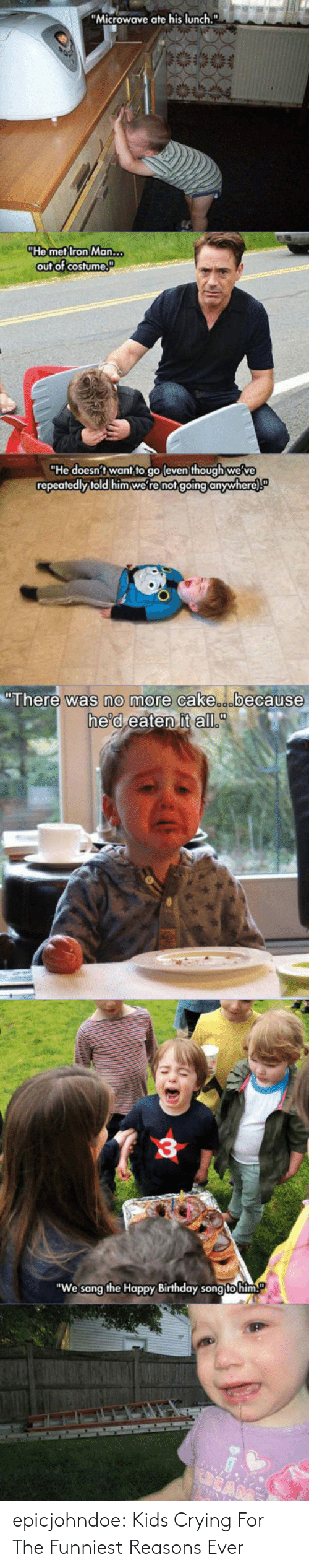 funniest: epicjohndoe:  Kids Crying For The Funniest Reasons Ever