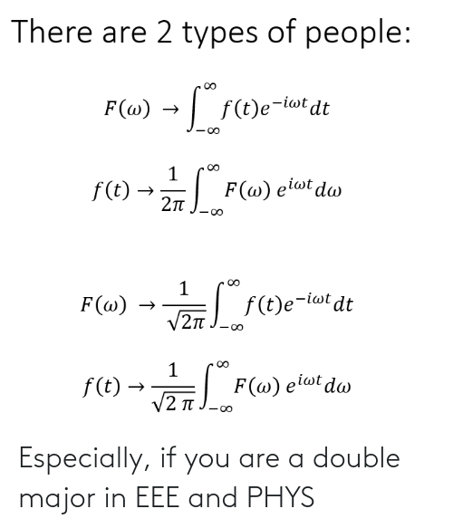 major: Especially, if you are a double major in EEE and PHYS