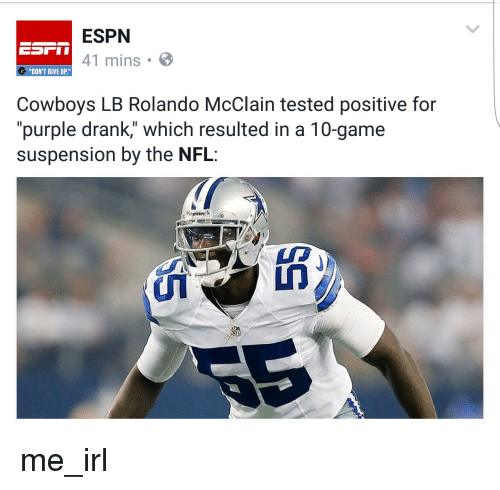 Feed Me Nfl: ESPN 41 Mins B DON'T GIVE UP Cowboys LB Rolando McClain