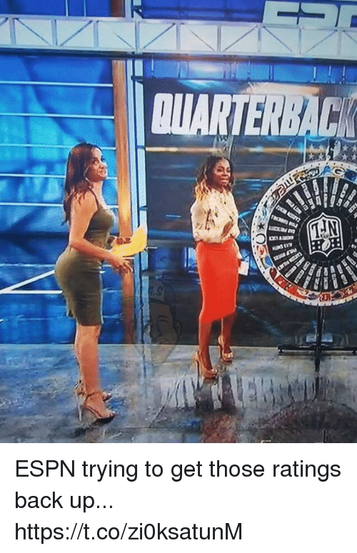Espn, Football, and Nfl: ESPN trying to get those ratings back up... https://t.co/zi0ksatunM