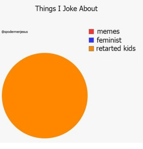 Retarted Kids: espodermenjesus  Things I Joke About  memes  feminist  retarted kids
