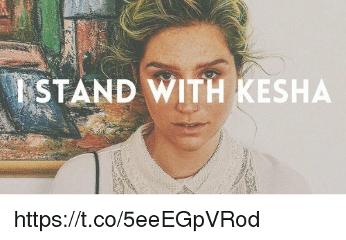 Girl Memes: ESTAND WITH KESHA https://t.co/5eeEGpVRod